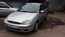 Ford Focus 1.4 Low Mileage only 65K full service history mot 2018