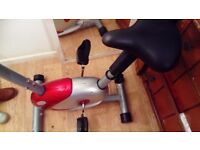 Magnetic Exercise Bike with Handpulse £48