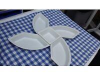 ANTIPASTI – TAPAS – STARTERS – CHEESE- VEG – CRISPS –BUFFETS - SET OF 5 DESIGNED