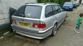 Breaking bmw e39 touring