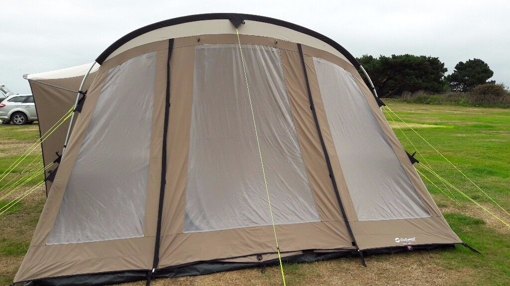 Outwell Yukon River 6 Person - Tunnel Tent - Polycotton - Carpet Included - All Great Condition