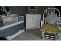 Complete bedroom package. Upcycled very chic
