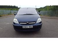 citroen c8 2.2 diesel, 5 speed manual, 7 seater mpv, 2003