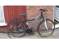 MUDDY FOX 21 SPEED FRONT SUSP HYBRID/TOWN BIKE 18.5in ALLOY FRAME V/CLEAN BIKE JUST SERVICED