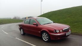 2004 jaguar x-type red diesel NOT PASSAT A4