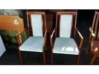 Chairs @ £5.00 each