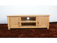 **NEW** Oak TV Unit/Cabinet/Stand