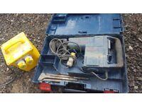 Bosch 110v concrete breaker and transformer