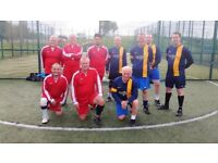 Over 55's 5-a-Side Football.