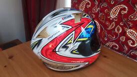 KBC VR-2 Full Face Helmet - Dragon Chrome S/M