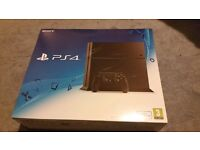 500GB Playstation 4 console and controller as new, less than a month old
