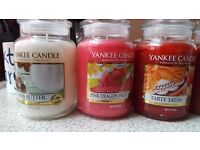 yankee candles large size only