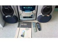 Aiwa Compact Disc Stereo System NSX-SZ50