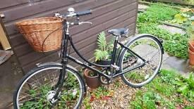 Pashley Little Black Bike - never ridden