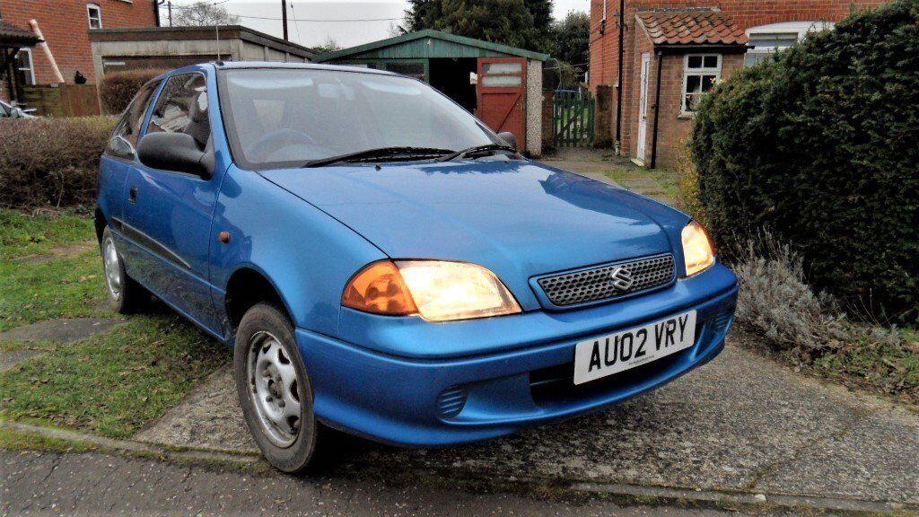 *Now Sold* Suzuki Swift 1.0 GLS 3 Door Hatchback: 66k Miles: 2002: MOT 12Nov18: Cheap Insurance