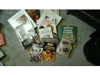 Various cook books hardback and paperback Approx 17