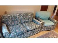 Free Two seater sofa and armchair