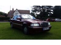 **11 MONTHS MOT** 2000 MERCEDES C180 ELEGANCE 5 DOOR SALOON **LOW MILEAGE+RECENT SERVICE**