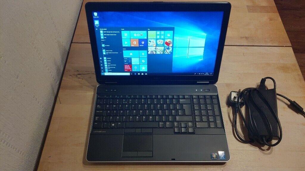 **SOLD*** Dell Latitude E6540 Laptop, i7, 8GB ram, 500 SSHD, Radeon HD  8790M, Windows 10   in Forfar, Angus   Gumtree