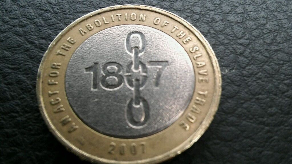 2007 2 Coin Abolition Of The Slave Trade 1807 Bicentenary