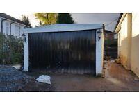 Concrete garage 6mx3.8 buyer must dismantle