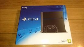 Sony Playstation 4 PS4 ...500 GB.....(Brand NEW)