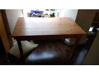 Wooden dining table, good condition, originally from Ikea