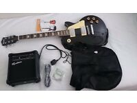 Rockburn LP2 Style Guitar Package