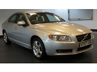2007 07 VOLVO S80 2.4 SE LUX D5 AUTO 4d 183 BHP *PART EX TO CLEAR*FULL SERVICE RECORDS*