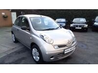 NISSAN MICRA VISIA 1.5 DIESEL DCI 09 REG IN SILVER WITH GREY TRIM FULL SERVICE HISTORY AND MOT SEPT