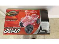 Pink Roadsterz Battery Quad