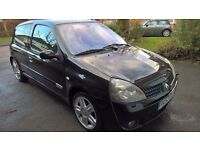2003 (53) RENAULT CLIO SPORT 172 2.0 16V 85K MILES, SERVICE HISTORY, STUNNING, BLACK, LIKE CUP 182