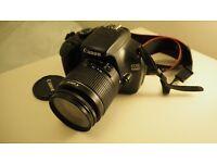 £500 ONO. Canon 1100D DSLR, lenses, bag, remote included