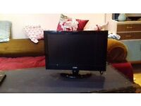 Small TV with build in DVD player