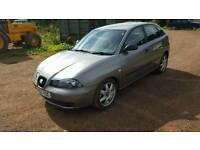 Seat Ibiza 1.9td, diesel, 03, full year MOT