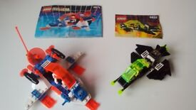 Lego Space Blacktron 6832 & Ice Planet Blizzard Baron 6879 Complete Instruction