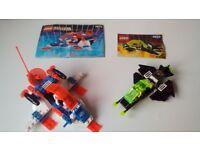 Lego Space Blacktron 6832 & Ice Planet Blizzard Baron 6879 Complete Instruction