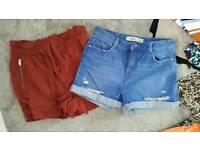 2 x women's size 12 shorts