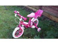 """12"""" Wheel Girls Bike"""