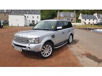 Rangerover sport hse tdv8 mot until nov 2018.full service and history
