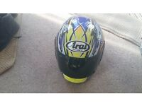 ARAI HELMET. Viper GT Medium . With Arai tinted visor. Good used condition, never been dropped.