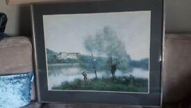 Stunning Jean Babtiste large professional framed print