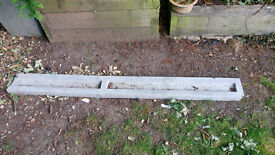 Concrete gravel board, part cut off, collection only from Lewisham SE London