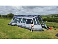 Outwell Montana 6p tent 2016 bundle, including front extension awning and extras.*BARGAIN*