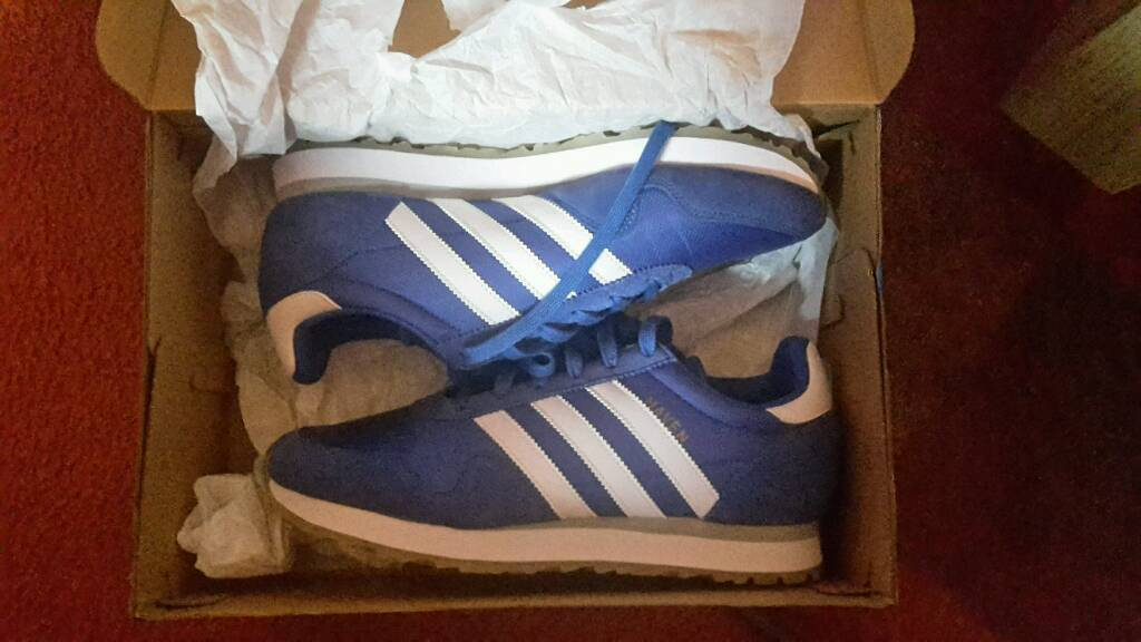 Size 8 adidas trainers, new in box