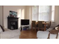 2 double bedroom period apartment with private garden minutes from Oval underground station