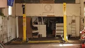 Dunlop 2 Post lift ramp