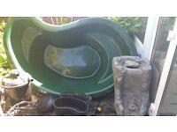 Pond, filter and pump for sale complete setup bargain