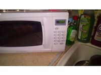 New microwave in wood Green
