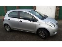 Quick sale. Toyota yaris 1.0 5dr
